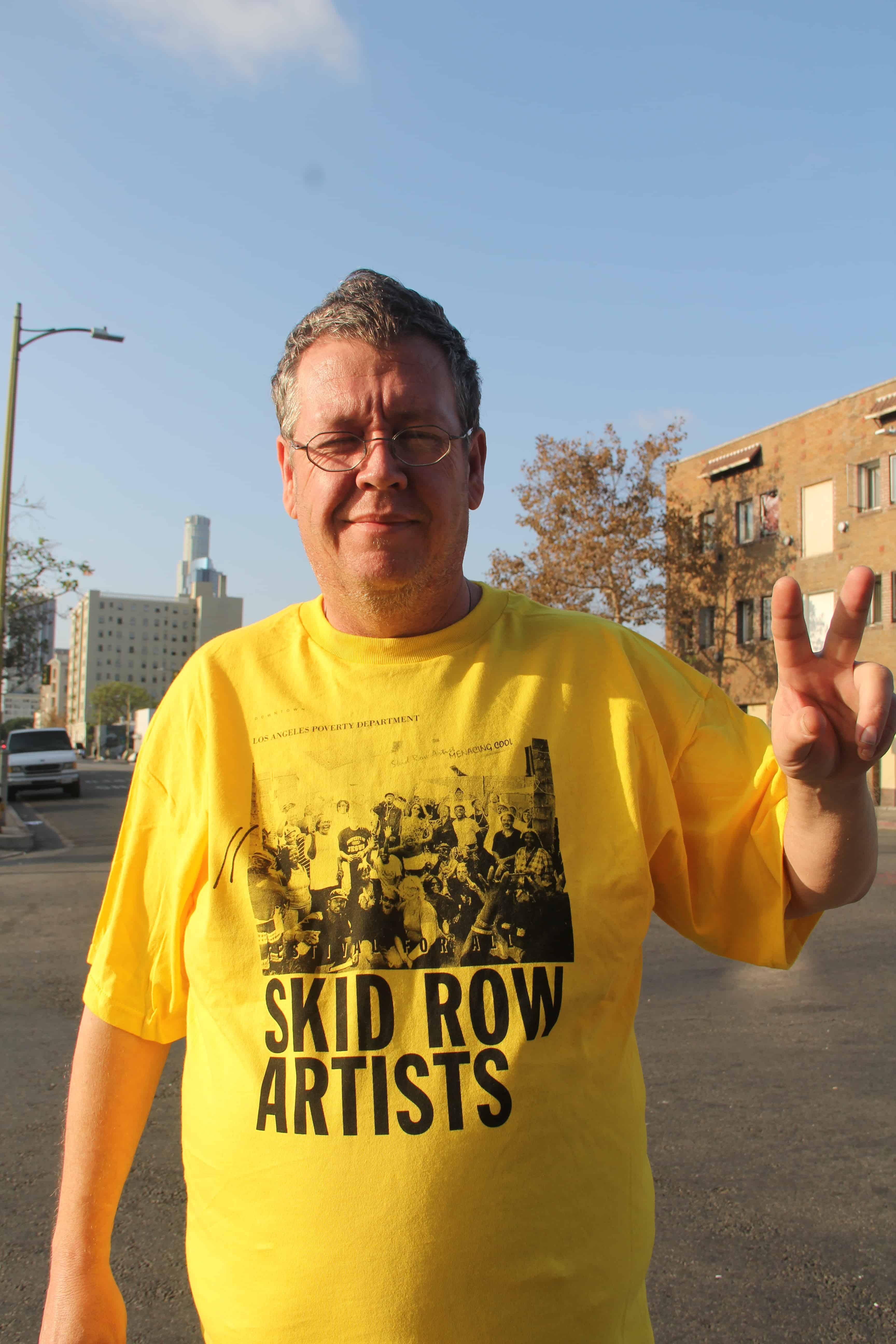 Skid Row Artists Festival For All Skid Row